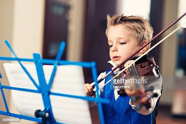 little violin virtuoso - imgorthand stock photos and pictures