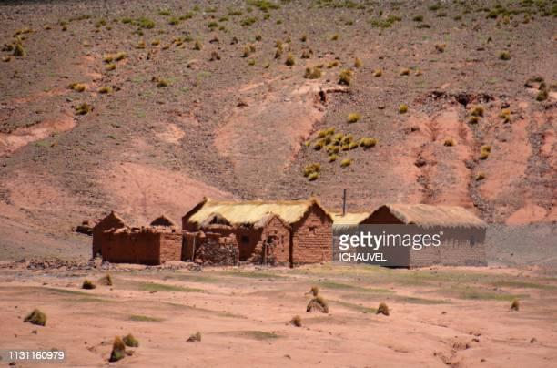 littles houses south lipez bolivia - tour structure bâtie stock pictures, royalty-free photos & images
