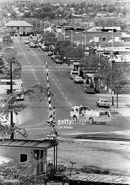 SEP 29 1977 SEP 30 1977 Littleton Co Fire Station West of Tracts is there a problem going east for fire trucks Fire trucks responds to fire on main...