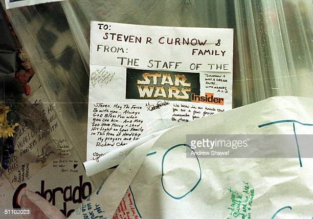 Littleton Colorado A Star Wars Tribute For One Of The Students Who Was Killed In The Shooting Spree