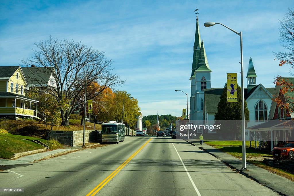 Littleton, New Hampshire. : Stock Photo