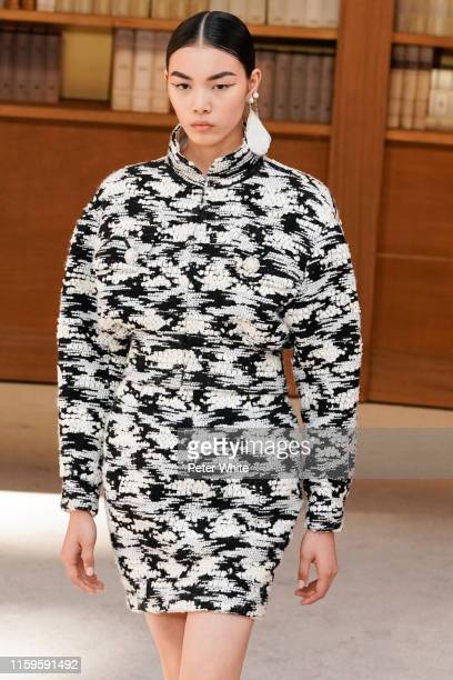 Liu BingBing walks the runway during the Chanel Haute Couture Fall/Winter 2019 2020 show as part of Paris Fashion Week on July 02 2019 in Paris France