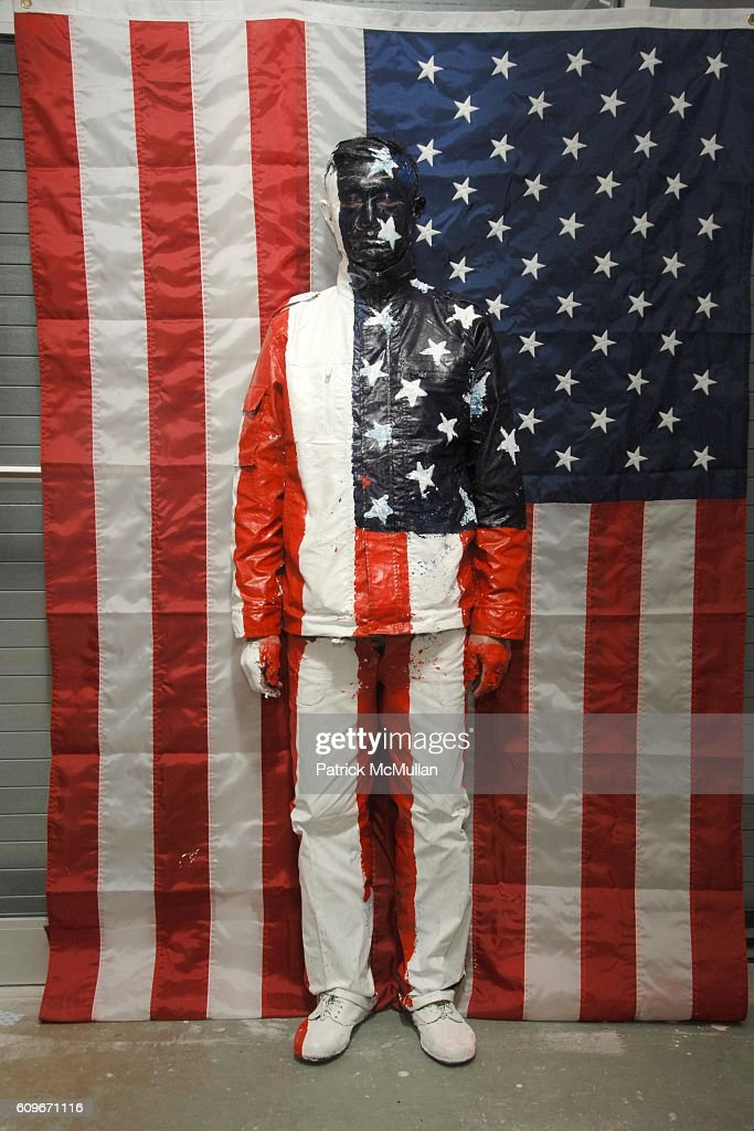 Liu Bolin attends Grand Opening of First North American Gallery: GALERIE BERTIN TOUBLANC at Galerie Bertin Toublanc on December 4, 2007 in 2534 North Miami Avenue, MIami.