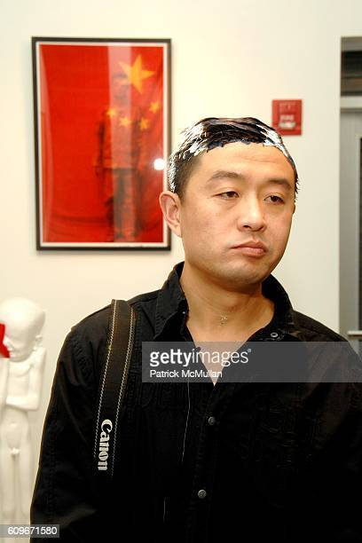 Liu Bolin attends Grand Opening of First North American Gallery GALERIE BERTIN TOUBLANC at Galerie Bertin Toublanc on December 4 2007 in 2534 North...