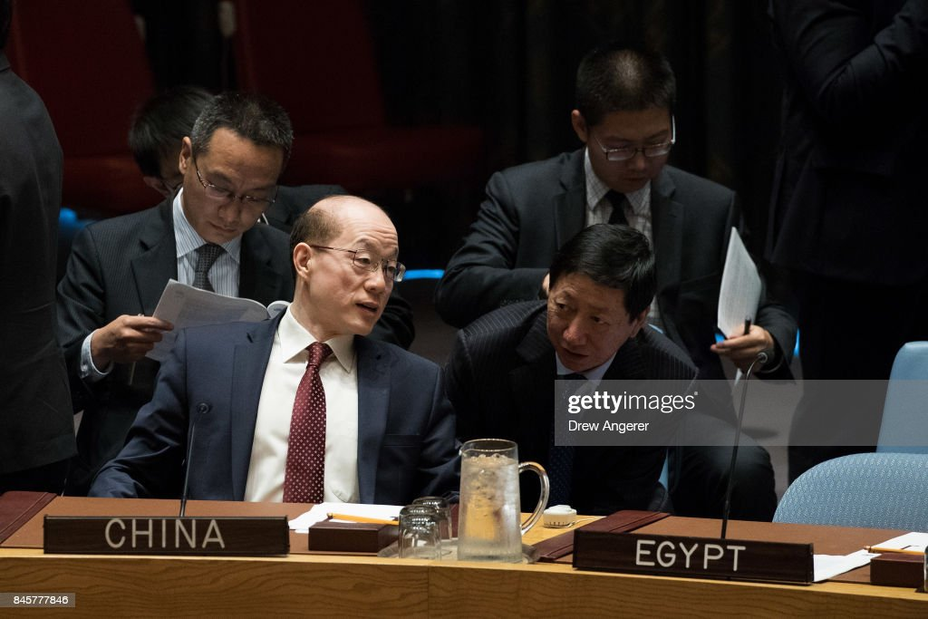 United Nations Security Council Meets On North Korea : News Photo