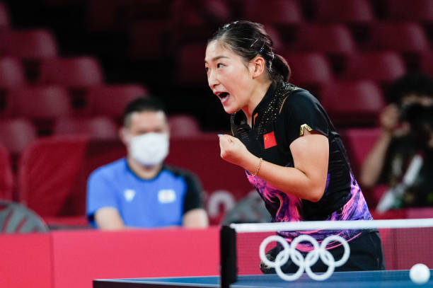 JPN: Table tennis - Tokyo 2020 Olympics - Day 3