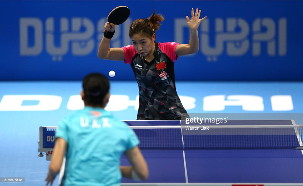 Nakheel Table Tennis Asian Cup 2016 - Day Three : News Photo