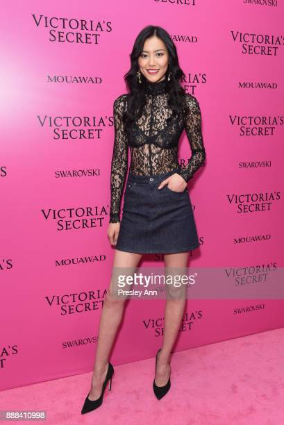 Liu Wen attends 2017 Victoria's Secret Fashion Show In Shanghai After Party at MercedesBenz Arena on November 20 2017 in Shanghai China