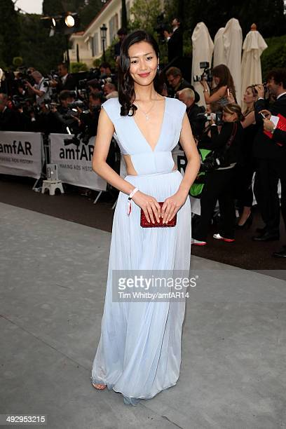 Liu Wen attends amfAR's 21st Cinema Against AIDS Gala Presented By WORLDVIEW, BOLD FILMS, And BVLGARI at Hotel du Cap-Eden-Roc on May 22, 2014 in Cap...