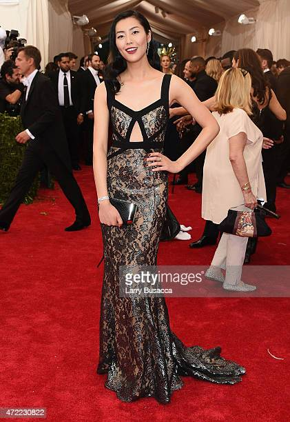 Liu Wen attends the 'China Through The Looking Glass' Costume Institute Benefit Gala at the Metropolitan Museum of Art on May 4 2015 in New York City
