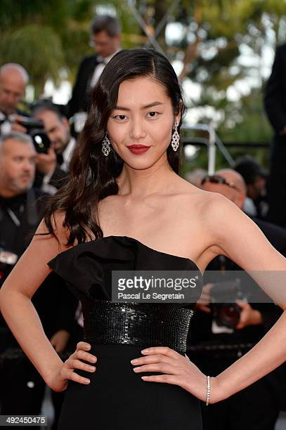 Liu Wen attends the 'Two Days One Night' premiere during the 67th Annual Cannes Film Festival on May 20 2014 in Cannes France