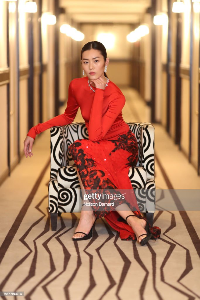 """Liu Wen Prepares For """"The Beguiled"""" Red Carpet - The 70th Annual Cannes Film Festival"""