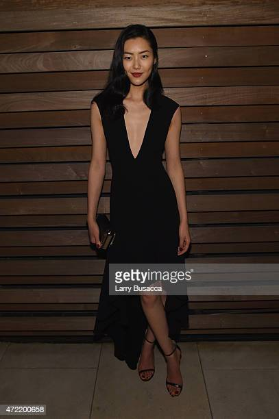 Liu Wenattends Michael Kors and iTunes After Party at The Mark Hotel on May 4 2015 in New York City