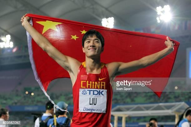 Liu Xiang Finale 110m Haies Championats du Monde d Athletisme 2011 Daegu