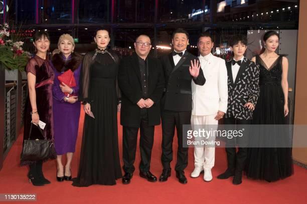 Liu Xuan Ai Liya Yong Mei Director Wang Xiaoshuai Wang Jingchun Zhao Yanguozhang Wang Yuan and Qi Xi arrive for the closing ceremony of the 69th...