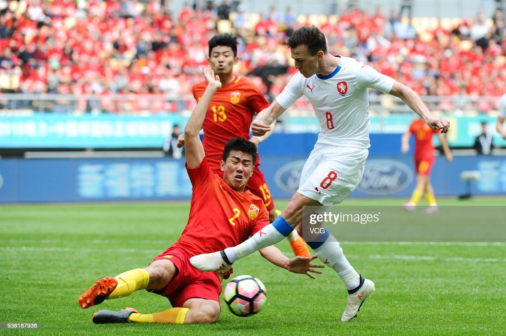 China v Czech Republic - 2018 China Cup International Football Championship