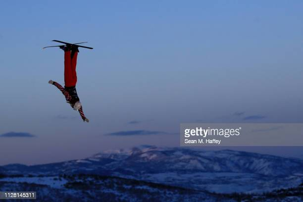 Liubov Nikitina of Russia during training for the Mixed Team Aerials at the FIS Freestyle Ski and World Championships on February 07 2019 at Deer...
