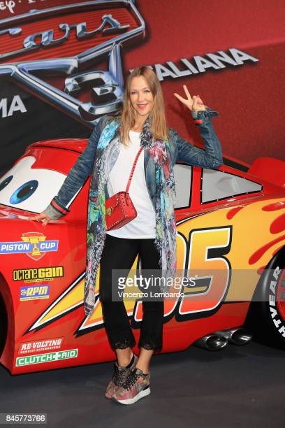 Liudmila Radchenko attends Cars 3 photocall in Milan on September 11 2017 in Milan Italy