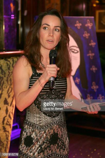 Liv Boeree attends the International Day of the Girl Child Charity Event At The Original Annabel's hosted by The Bardou Foundation at Annabel's on...