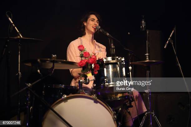 Liv Bruce of PWR BTTM performs at The Garage on April 18 2017 in London United Kingdom
