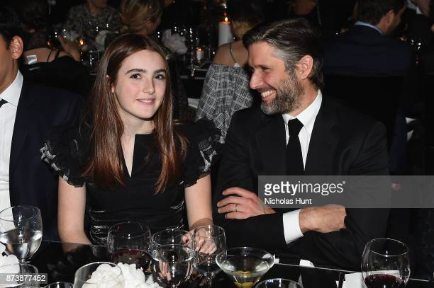 Liv Freundlich and Bart Freundlich attend The Museum of Modern Art Film Benefit presented by CHANEL A Tribute to Julianne Moore at MOMA on November...
