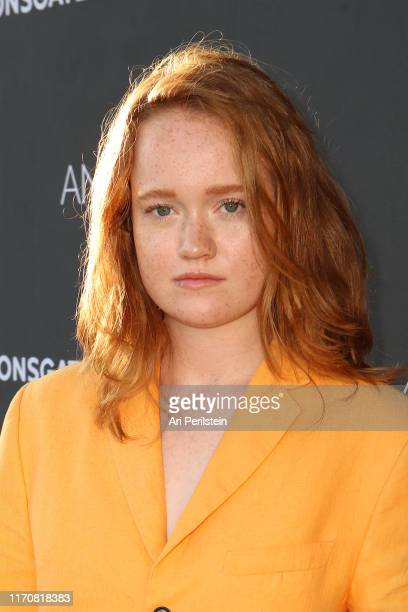 Liv Hewson arrives at Angel of Mine Special Screening at Raleigh Studios on August 28 2019 in Los Angeles California