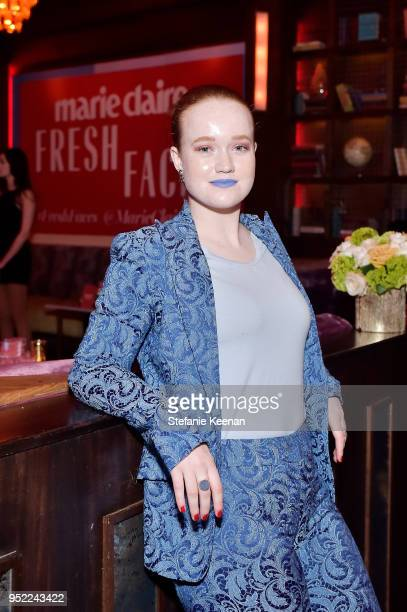 Liv Hewson attends Marie Claire Celebrates Fifth Annual 'Fresh Faces' in Hollywood with SheaMoisture Simon G and Sam Edelman at Poppy on April 27...