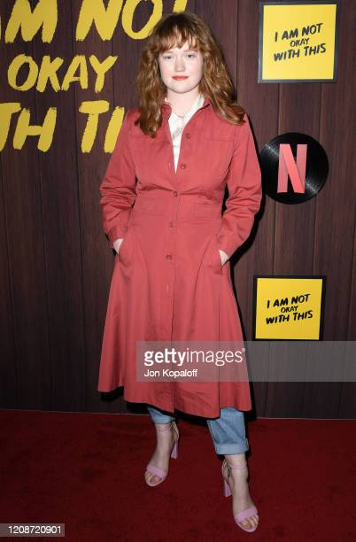 Liv Hewson attends Netflix's I Am Not Okay With This Photocall at The London West Hollywood on February 25 2020 in West Hollywood California