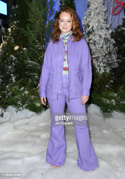 Liv Hewson attends the photocall for Netflix's Let It Snow at the Beverly Wilshire Four Seasons Hotel on November 01 2019 in Beverly Hills California