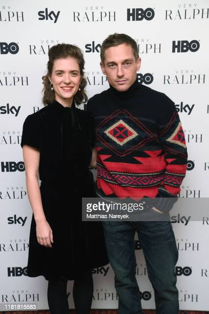 Liv Lisa Fries and Volker Bruch during the premiere of the HBO Documentary Very Ralph on November 11 2019 in Berlin Germany