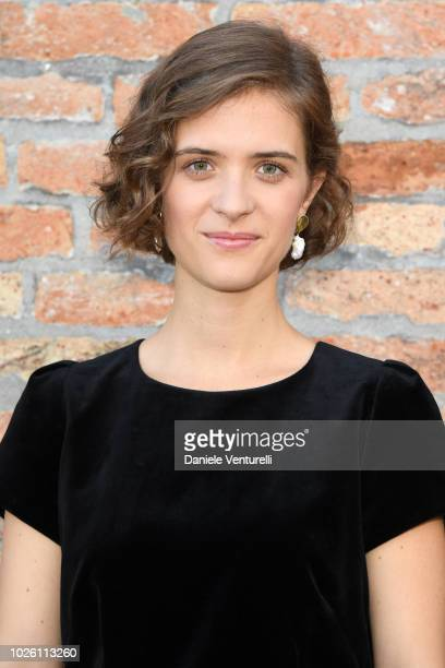 Liv Lisa Fries attends 2018 Kineo Awards press conference during the 75th Venice Film Festival on September 2 2018 in Venice Italy