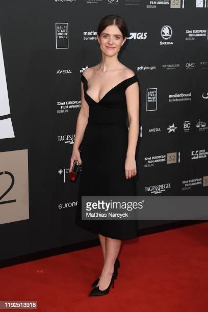 Liv Lisa Fries attends the 32nd European Film Awards at Haus Der Berliner Festspiele on December 07, 2019 in Berlin, Germany.