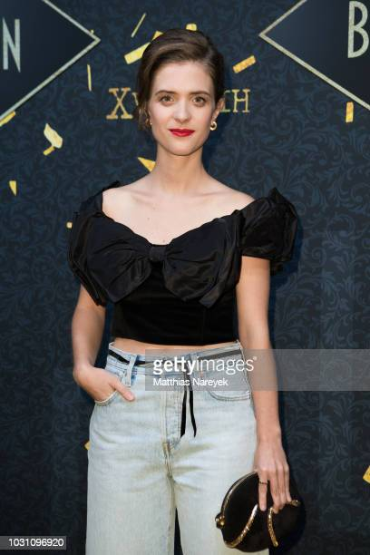 Liv Lisa Fries attends the 'Babylon Berlin Golden Hours' premiere at Bar Tausend on September 10 2018 in Berlin Germany