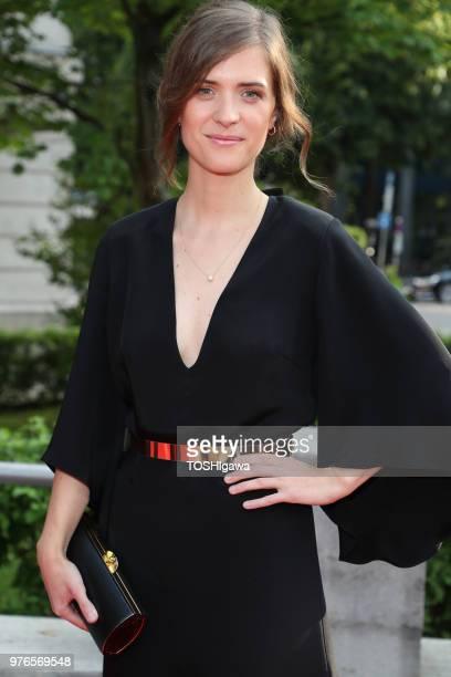 Liv Lisa Fries attends the Bayerischer Fernsehpreis at Prinzregententheater on May 18, 2018 in Munich, Germany.