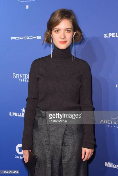 Liv Lisa Fries attends the Blue Hour Reception hosted by ARD during the 67th Berlinale International Film Festival Berlin on February 10, 2017 in...