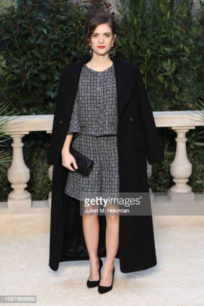Liv Lisa Fries attends the Chanel Haute Couture Spring Summer 2019 show as part of Paris Fashion Week on January 22 2019 in Paris France