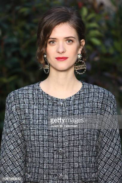 Liv Lisa Fries attends the Chanel Haute Couture Spring Summer 2019 show as part of Paris Fashion Week on January 22, 2019 in Paris, France.