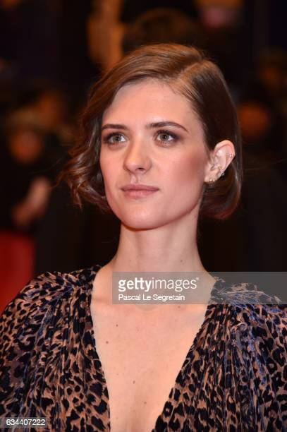 Liv Lisa Fries attends the 'Django' premiere during the 67th Berlinale International Film Festival Berlin at Berlinale Palace on February 9, 2017 in...