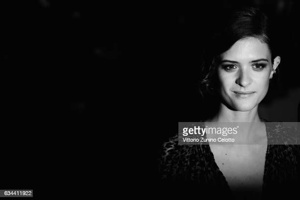 Liv Lisa Fries attends the 'Django' premiere during the 67th Berlinale International Film Festival Berlin at Berlinale Palace on February 9 2017 in...