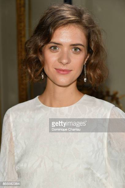 Liv Lisa Fries attends the Kaviar Gauche Bridale Couture Collection 2018 La Vie En Rose as part of the Paris Fashion Week Womenswear Spring/Summer...
