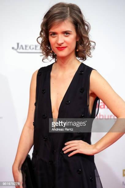 Liv Lisa Fries attends the Lola German Film Award red carpet at Messe Berlin on April 27 2018 in Berlin Germany