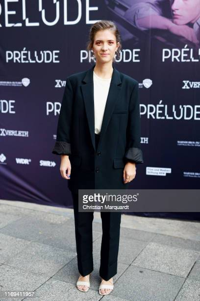 Liv LIsa Fries attends the Prelude film premiere at Filmtheater am Friedrichshain on August 21 2019 in Berlin Germany