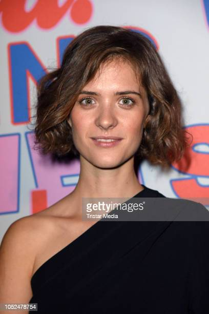 Liv Lisa Fries attends the Stella McCartney X UZWEI Spring/Summer 2019 Collection Launch Party at Gruenspan Club on October 18 2018 in Hamburg Germany