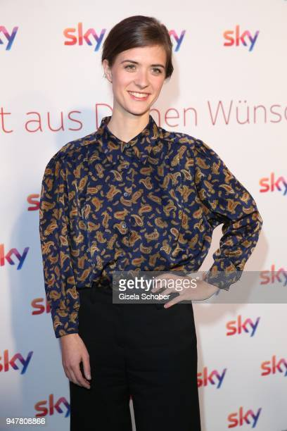 Liv Lisa Fries during the launch event for 'Das neue Sky' on April 17 2018 in Munich Germany