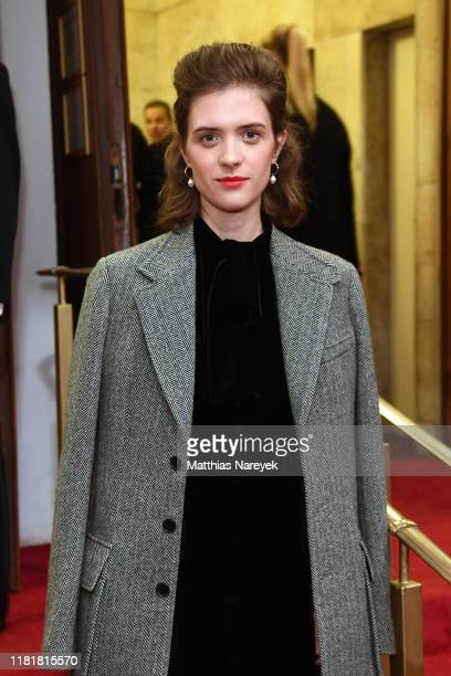 Liv Lisa Fries during the premiere of the HBO Documentary Very Ralph on November 11 2019 in Berlin Germany