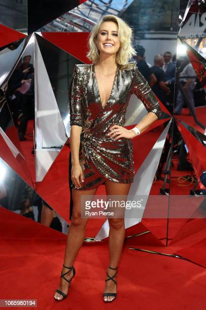 Liv Phyland arrives for the 32nd Annual ARIA Awards 2018 at The Star on November 28 2018 in Sydney Australia