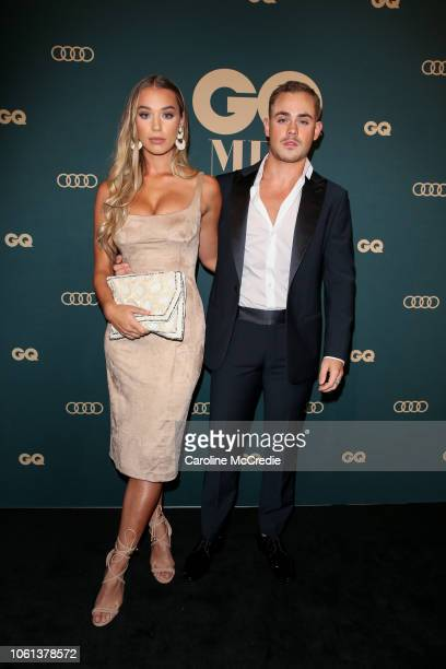 Liv Pollock and Dacre Montgomery attend the GQ Australia Men of The Year Awards at The Star on November 14 2018 in Sydney Australia