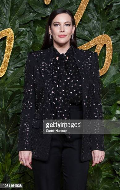 Liv Tyer arrives at The Fashion Awards 2018 In Partnership With Swarovski at Royal Albert Hall on December 10 2018 in London England