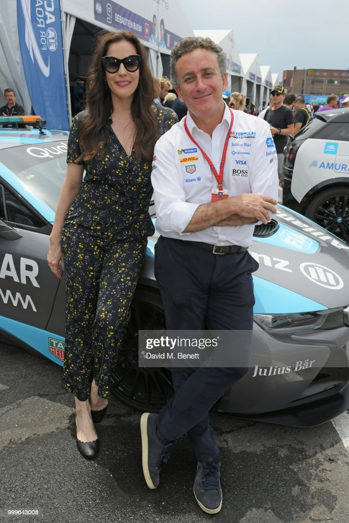 Celebrities Attend The ABB FIA Formula E Qatar Airways New York City E-Prix 2018