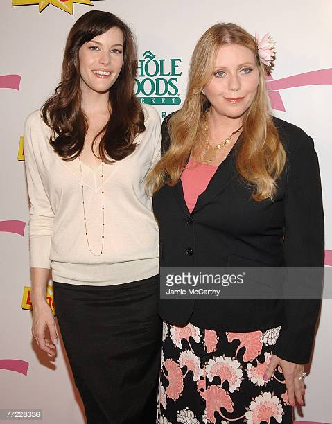 Liv Tyler and Bebe Buell arrive to Kick Off Breast Cancer Awarness Month with the Launch of Generation Pink EmergenC Pink at Whole Foods Market in...